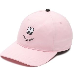 7e07e2ef Vans Accessories | X Lazy Oaf Not Now Pink Checkered Bow Cap | Poshmark
